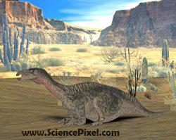 Dinosaurier Lurdusaurus / dinosaur Lurdusaurus