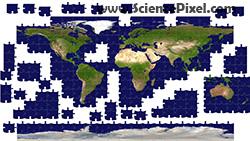 Globus Puzzle / globe jigsaw puzzle