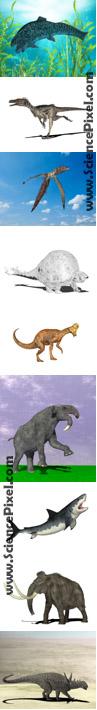 extinct_animals_ausgestorbene_tiere_dinosaur_dinosaurier